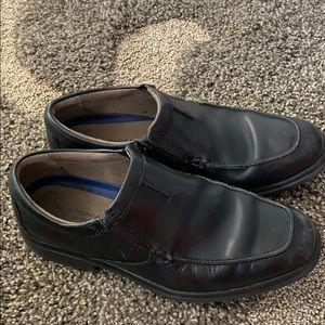 Boston is black dress shoes